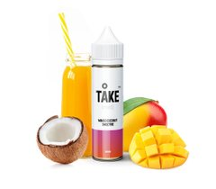 E-Liquid TAKE MIST | MANGO COCONUT | 20 ml, 0 mg/ml 4751028735301