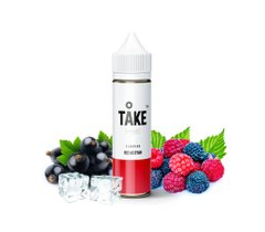 E-Liquid TAKE MIST | RED AS STAR | 20 ml, 0 mg/ml 4751028737206